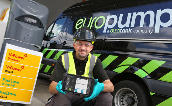 Europump Transforms Forecourt Services with BigChange Mobile Technology