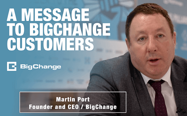 A Message to BigChange Customers