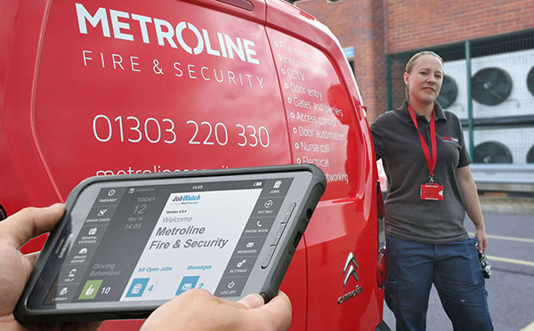 Metroline Transform Fire and Security Services with BigChange Mobile Working Tech